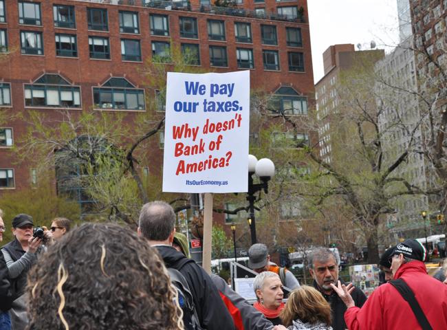 Protest April 15, 2011